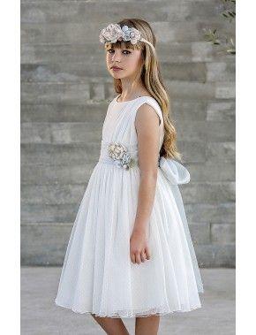 388b7bb4e Vestido de arras ceremonia fiesta de niña