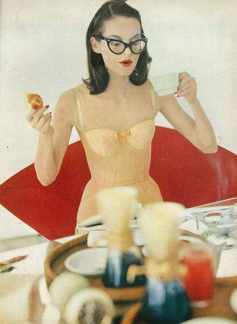 Cateyes in Vogue, 1956