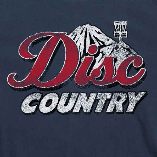 DISC COUNTRY Disc Golf T-Shirt Clothing Apparel