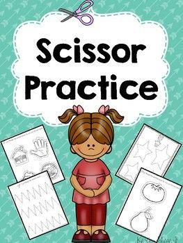 Scissor Practice Pack
