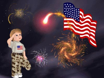 Magickal Graphics - 4th July/Independence Day Comments & Graphics