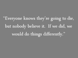 Quotes from the Book Tuesdays with Morrie