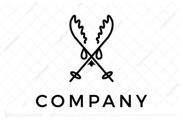 Logo for sale: Ski Logo