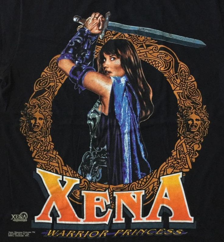 NWOT Xena Warrior Princess Large Shirt 1996 Lucy Lawless TV Show #Changes #GraphicTee