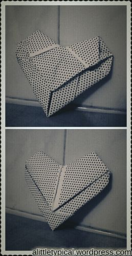 Origami Heart | alittletypical