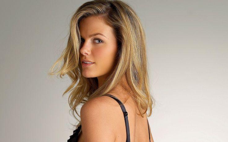 People 2560x1600 Brooklyn Decker model women dyed hair simple background