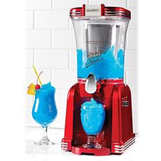 Makes delicious slushies and soft ice cream!