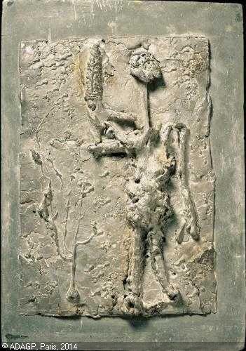 Germaine RICHIER 1904-1959 (France) Titre : Bas-relief N. 55 Date : 1953/1954 lead