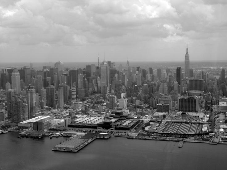 NY desde el aire.