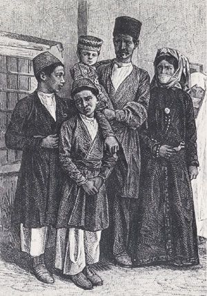 Armenian Life in Turkey Armenian family, late 19th century