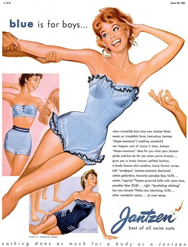 modest vintage swimsuits - Google Search