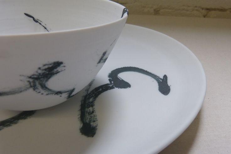 maker:  Andrei Davidoff product:the black & white range material:porcelain handmade in Melbourne
