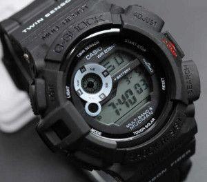 Jam tangan Casio G shock Mudman Black Replika KW Super Murah. Hanya 120.000 Free Box