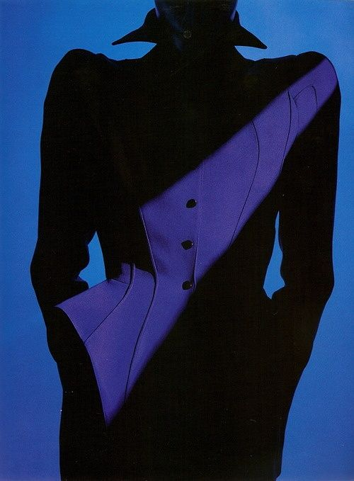 1988-89 - Thierry Mugler suit Photo by Wilfrid Gremillet
