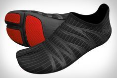 Zemgear 360 Ninja Split-Toe Running Shoes: If your goal is to get as close as possible to a barefoot running experience, the Zemgear 360 Ninja Split-Toe Running Shoes ($50-$60) are a step in the right direction. Features include a split-toe design, phylon outsole, tech bands in the upper for greater stability, a round-toe pattern for increased flex, and Gecko-Grip rubber pods for traction. Overall, they weigh just 2.5 ounces, or just slightly more than some socks