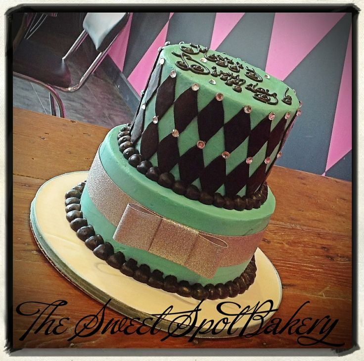 Teal Birthday Cake Bling The Sweet Spot Bakery Fort Worth