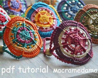Tutorial n 6 Macrame owl mini-bag necklace by Macramedamare