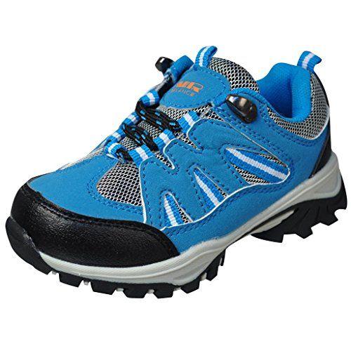 wow Air Balance Little Boys Hiking Boots - Blue
