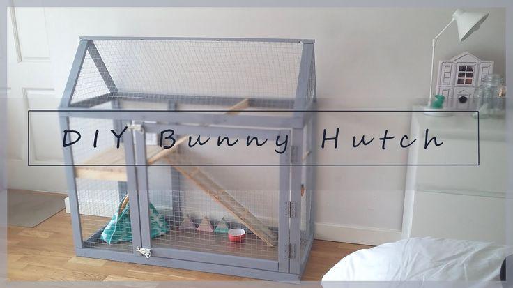 DIY Rabbit Indoor Hutch                                                                                                                                                                                 More