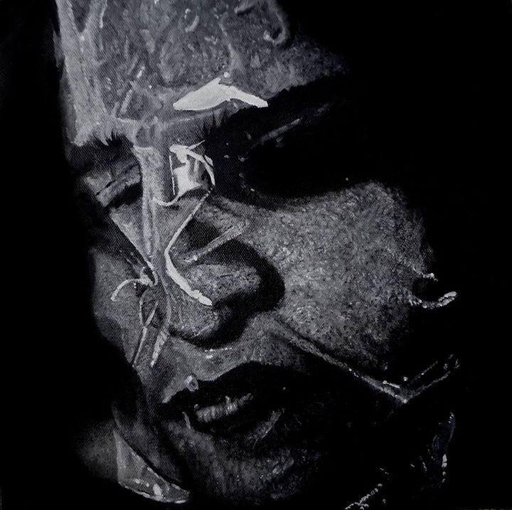 'Corpse' Oil on Canvas 32 x 32 cm 2014