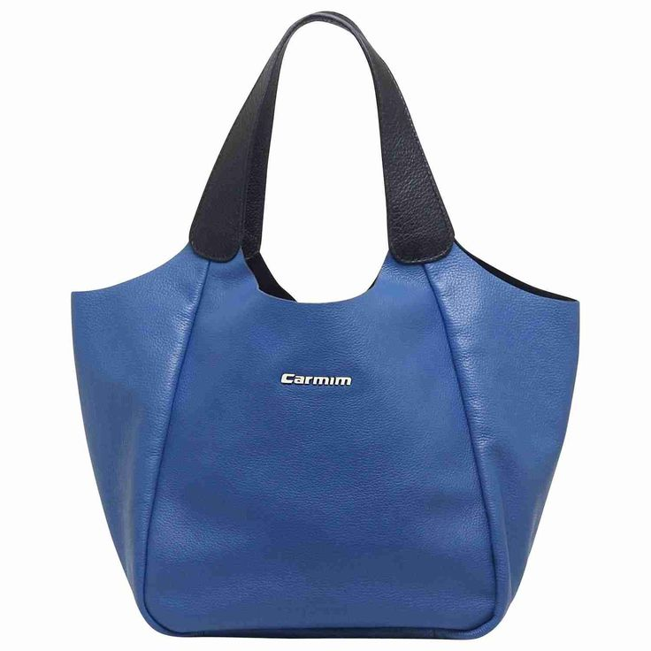 Bag / bolsas Bolsas de couro Bolsa couro nadia azul oceano/preto - Carmim Store LIIINDAAAA                                                                                                                                                     Mais