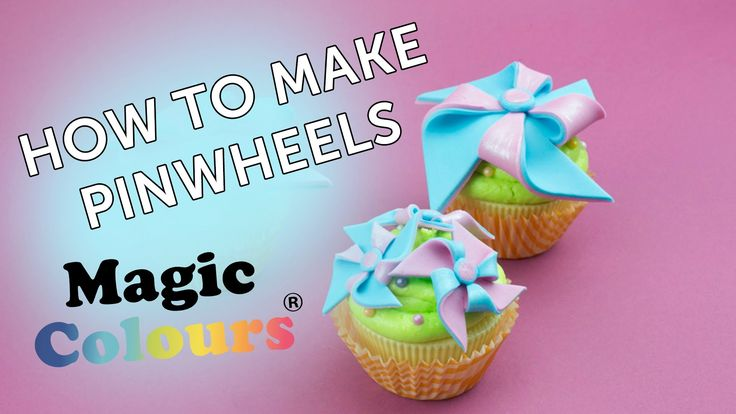 How To Make Pinwheels with Magic Colours
