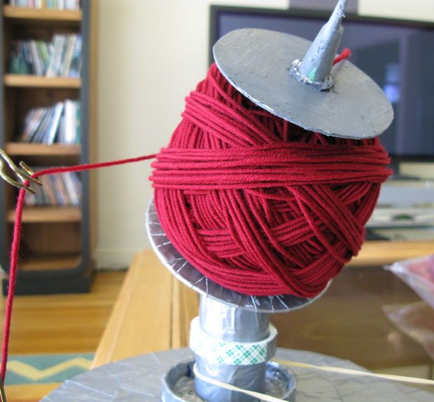 Make Your Own Yarn Winder for Center Pull Balls