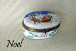 Limoges Boxes, Limoges Porcelain Boxes, Limoges Box: Christmas and New Year