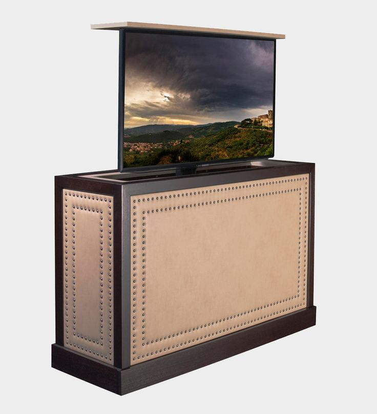 elevate your home to alist status with a luxury motorized tv cabinet http