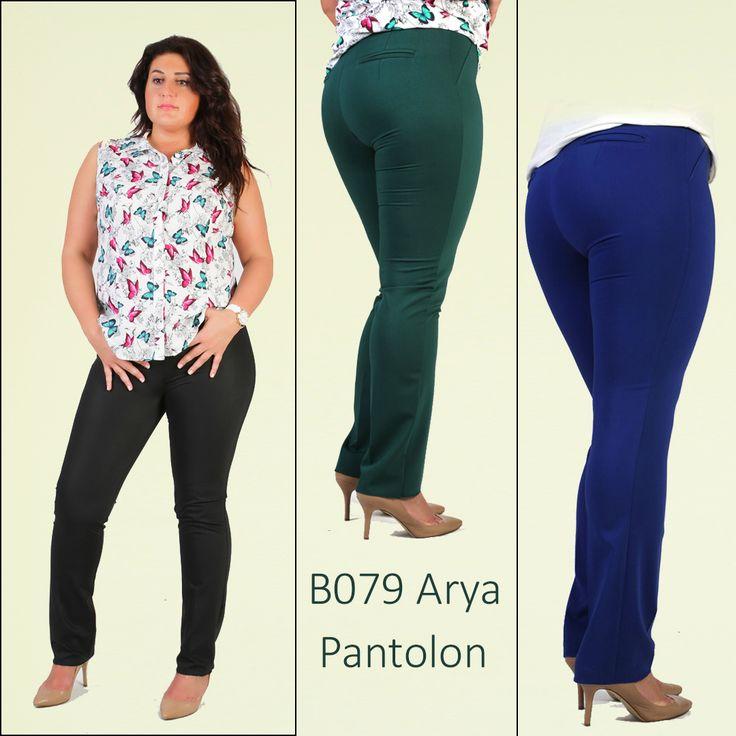 B079 Arya #Pantolon 44-54 beden arası siyah yeşil ve saks renkleri mevcuttur www.bedrin.com.tr de whatsapp 507 0178614 Fiyatı 99 TL sitemize üye olanlara 20 TL indirim uygulanacaktır. #büyükbeden #yaz #tarz #Bedrin