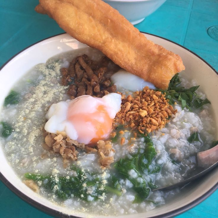 This is one of the best breakfast option that you can take in Pontianak, West Borneo, Indonesia. It is a pork porridge; mixed with vegetables and topped with a half-boiled egg. You can add some fries (optional) to elevate the delicacy. It costs around 20000 IDR ( 1.5 USD)  Address : Hijas Street, Pontianak, Indonesia