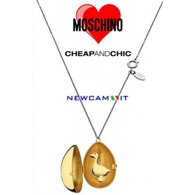 COLLANA MOSCHINO CHEAP AND CHIC LUISA MJ0033 TRASPORTO INCLUSO