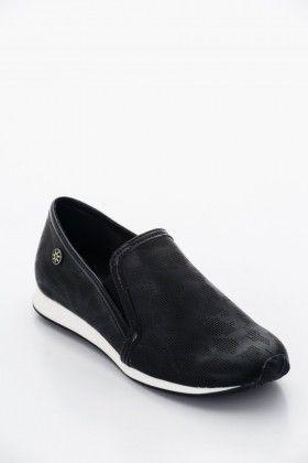 Fekete Montonelli Női Utcai cipő