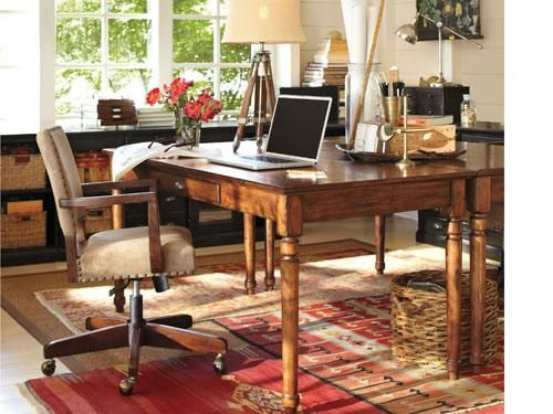 Home Office Gallery U0026 Home Office Design Gallery | Pottery Barn Printeru0027s  Writing Desk