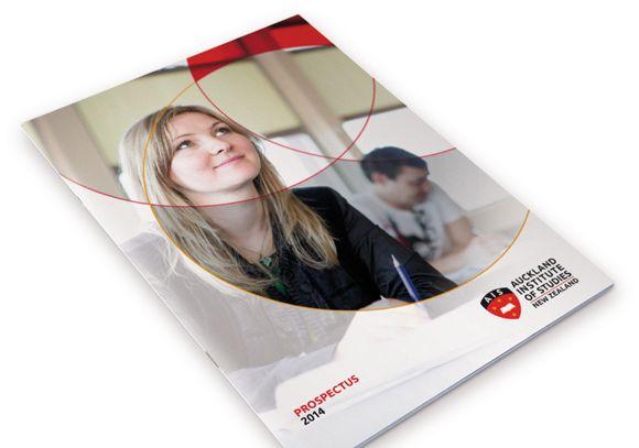 AIS branding - Prospectus design