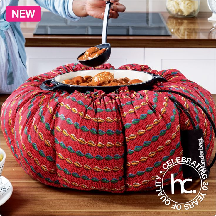 Thandi wonderbag from R399 cash or only R39 p/m with free cookbook. Shop now >> http://www.homechoice.co.za/kitchen-and-dinnerware/Kitchen-Accessories/Thandi.aspx