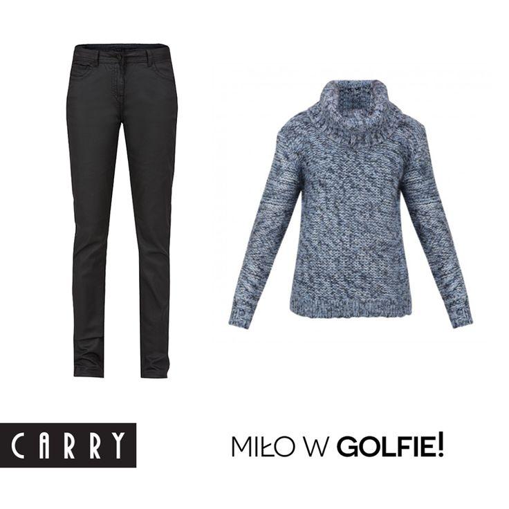 Nie tylko miło, ale i ciepło! Lubicie nosić golfy zimą? #autumn #outfit #fashion