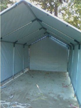 Pin by Wendy Vearing on Camping | Carport kits, Rv shelter ...