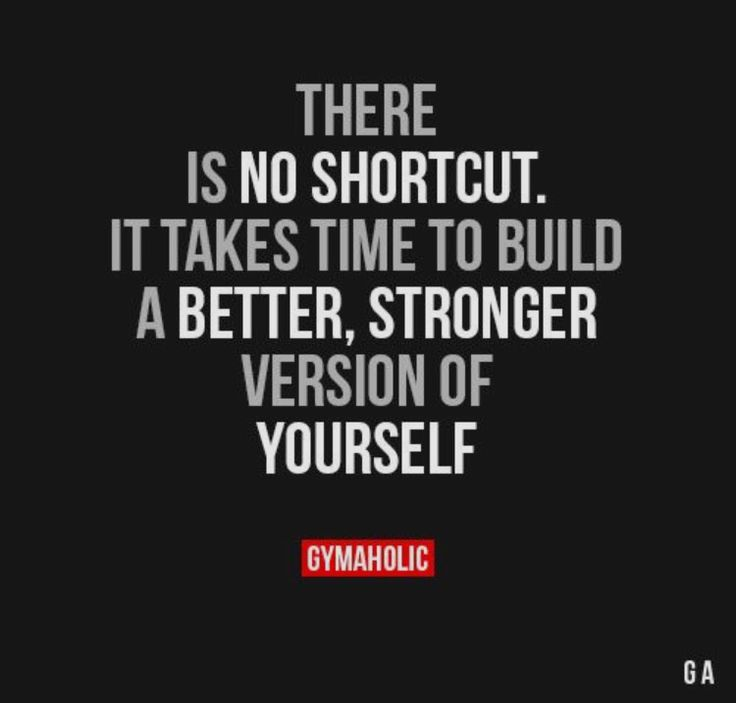 Fitness and life motivation quote