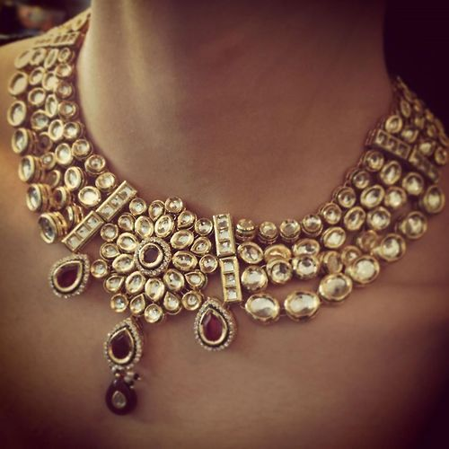IT'S PG'LICIOUS — #traditional Indian jewellery