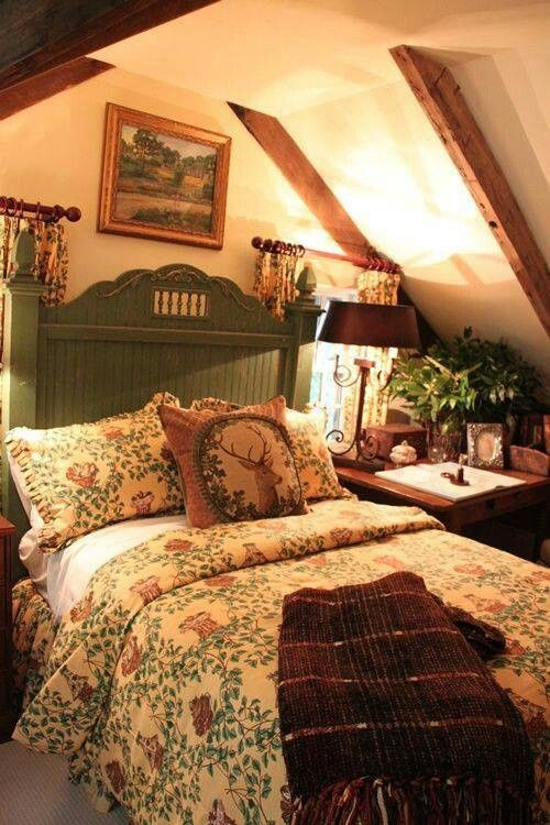 Country era da minha v pinterest country - Old fashioned vintage bedroom design styles cozy cheerful vibe ...