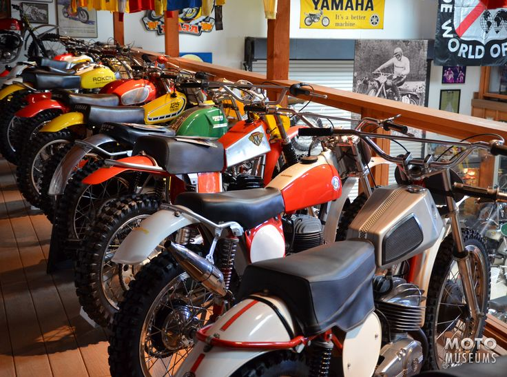 Vintage CZ, Bultaco, Maico, Penton, Yamaha, Amex, Rokon and Can-Am at the Early Years of Motocross Museum.: Dirt Bike