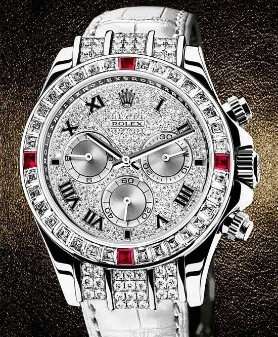 Diamond Rolex Watch