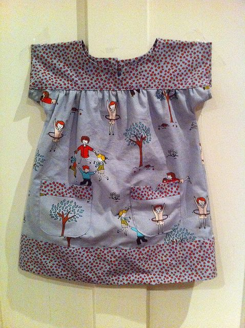 Oliver + S Ice Cream Dress, 12 - 18 months by The Good Enough Mother, via Flickr
