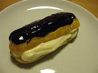 Mine Oppskrifter: Vannbakkels med vaniljekrem og sjokolade.