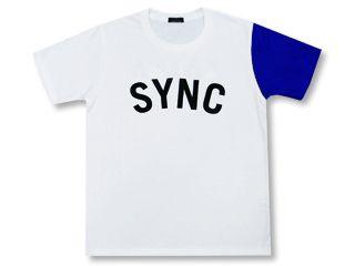 Sync Tシャツ 青