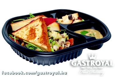 Grillezett füstölt sajt, rucolás saláta olajos magvakkal és balzsamecetes öntettel:  Várjuk a rendelésedet 14 óráig:  http://www.gastroyal.hu/rendeles/etlap