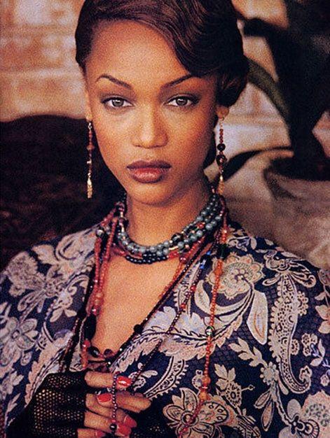 Ralph Lauren 1993 - Tyra Banks by Bruce Weber
