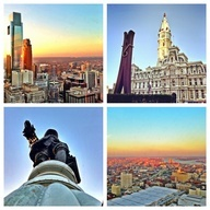 Views from Philadelphia City Hall Observation Deck