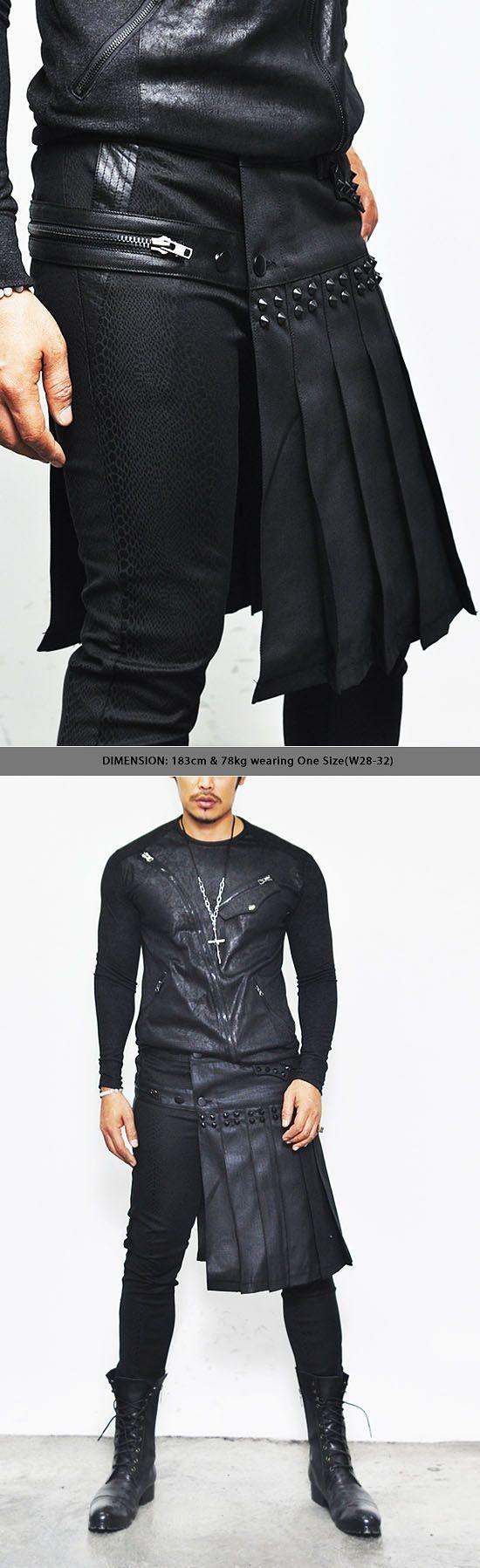 AVANT GARDE HAUTE COUTURE | Details about Avant-garde Haute Couture Mens Fleated Gladiator Wrap ... #Fashion